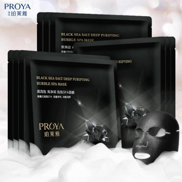 Buy [Ready Stock] 珀莱雅 Proya Black Sea Salt Deep Purifying Bubble Spa Mask Singapore