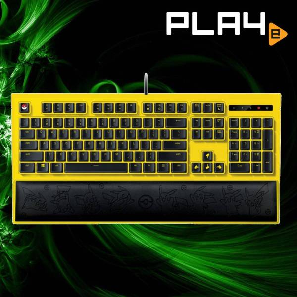 Razer Pokemon Pikachu Limited Edition Backlit Keyboard Singapore