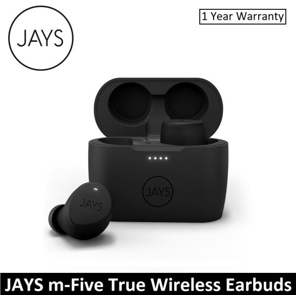 JAYS m-Five True Wireless Bluetooth Earbuds Earpiece Headphone Headset TWS with Mic Sweatproof Singapore