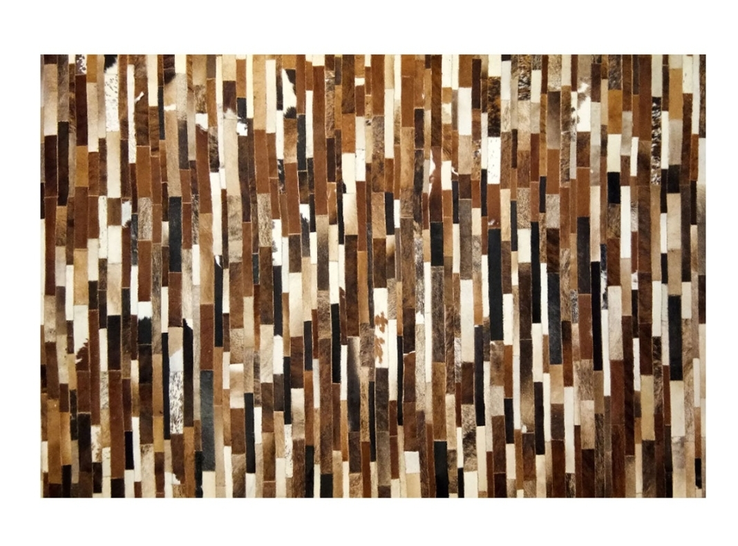 CP 120 Cowhide Leather Rug