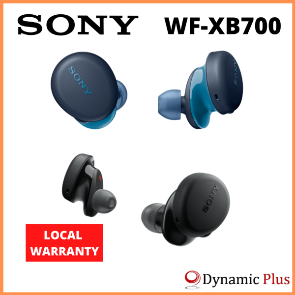 Sony WF-XB700 EXTRA BASS™ Truly Wireless Bluetooth Earbuds Singapore