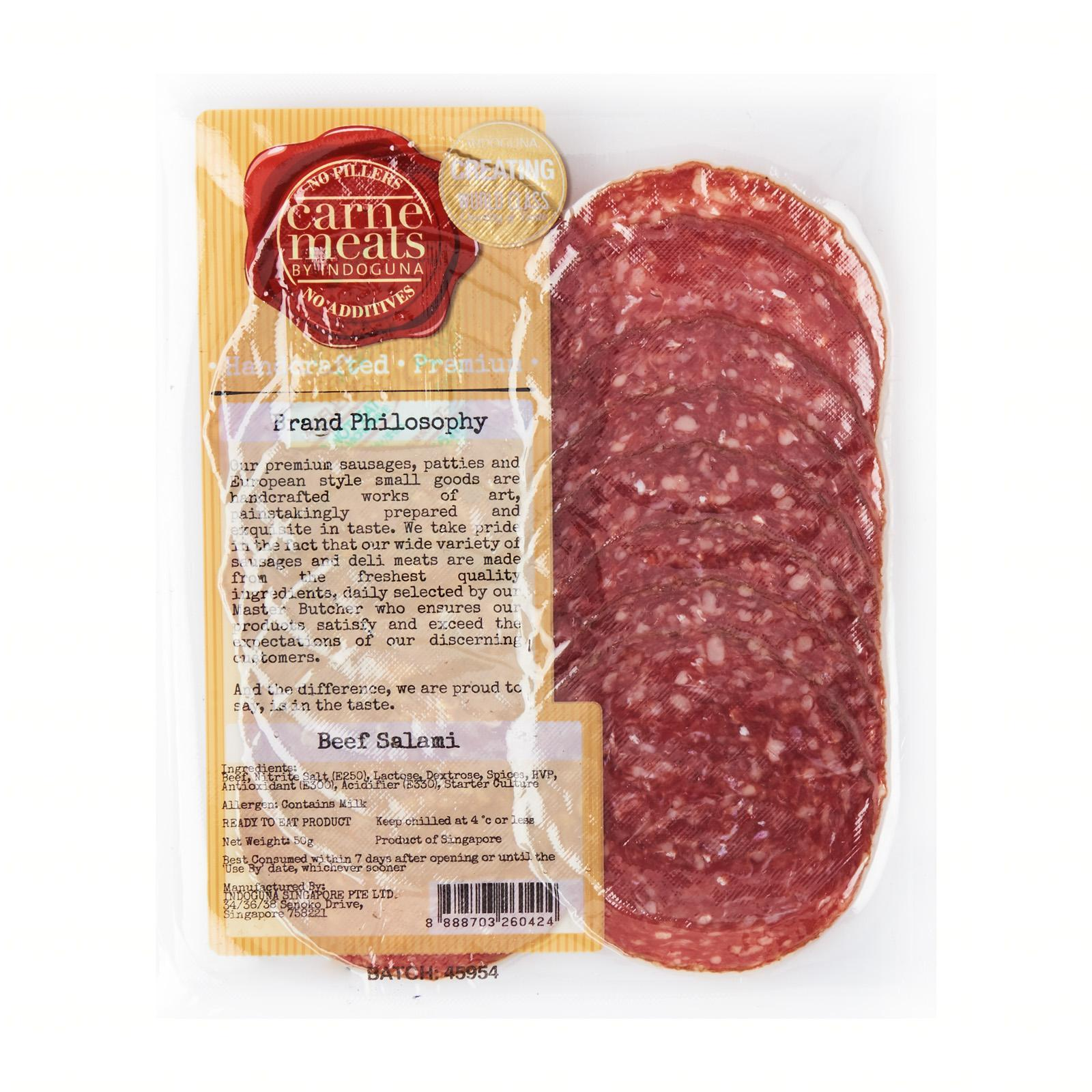 Carne Meats 100% Beef Salami