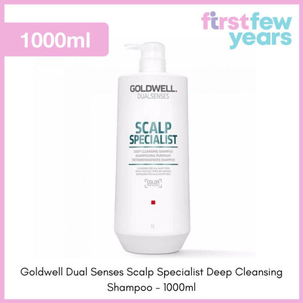 Buy Goldwell Dual Senses Scalp Specialist Deep Cleansing Shampoo (250ml/1000ml) by First Few Years Singapore