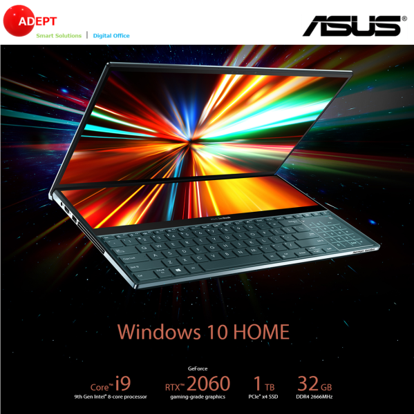 Asus Zen Book DUO i9 32GB 1TB UX581GV-H2037T