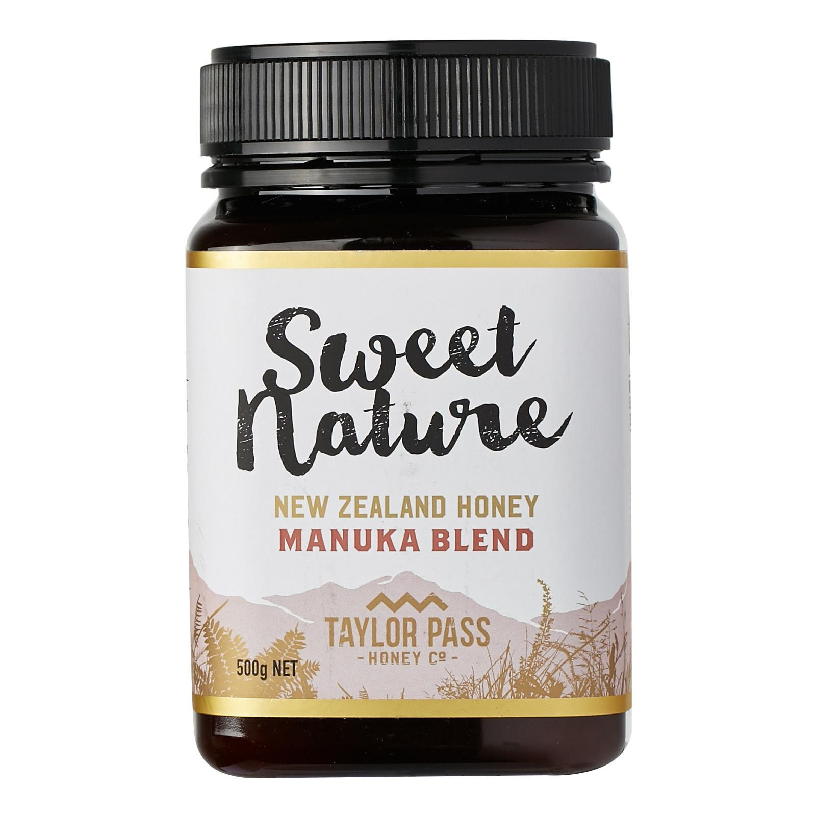 Sweet Nature Manuka Blend Honey - By Nature's Nutrition