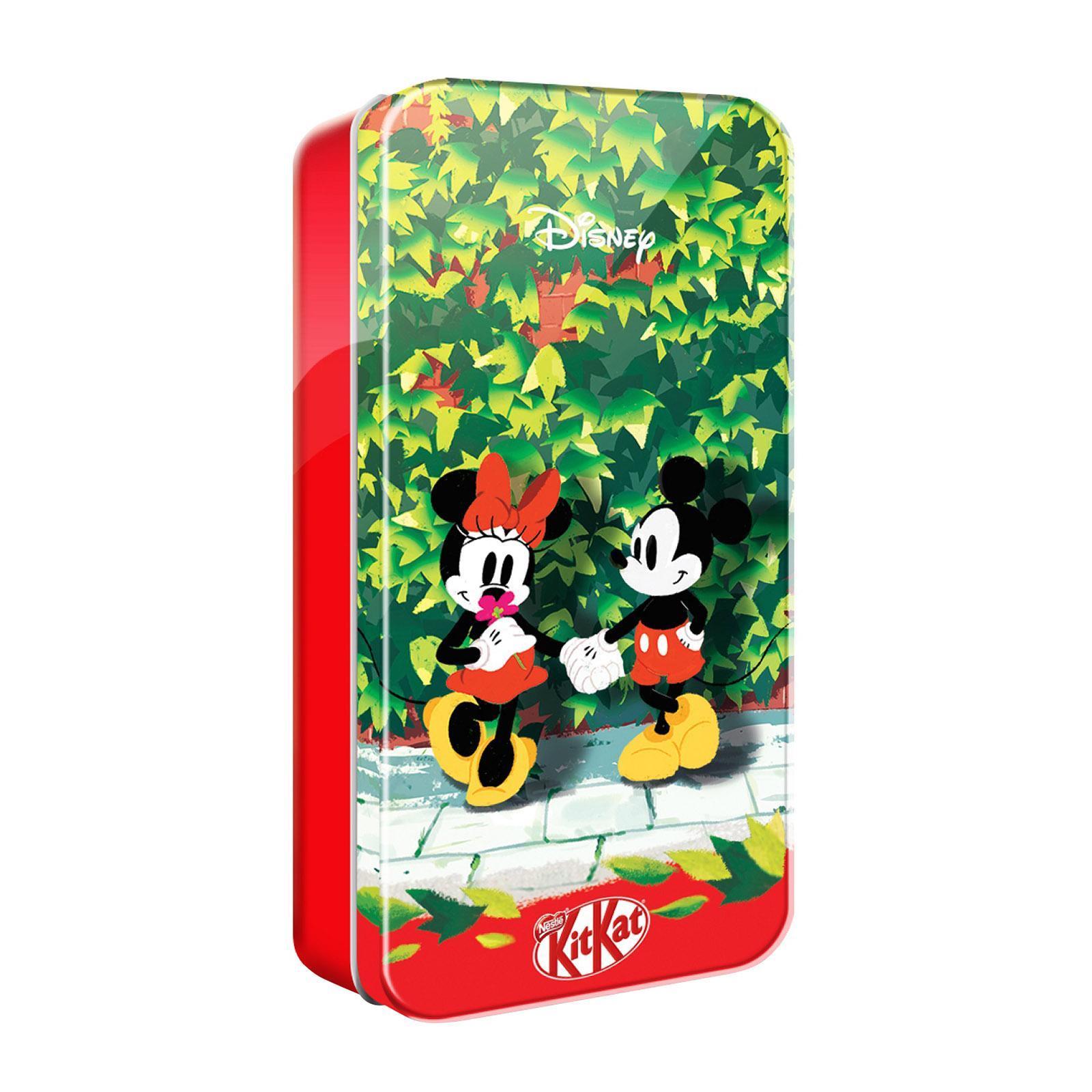 Nestle Kit Kat X Disney Magical Seasons Pencil Tin (Packed with KIT KAT MINI Cookies and Cream 6s and KIT KAT Bites )