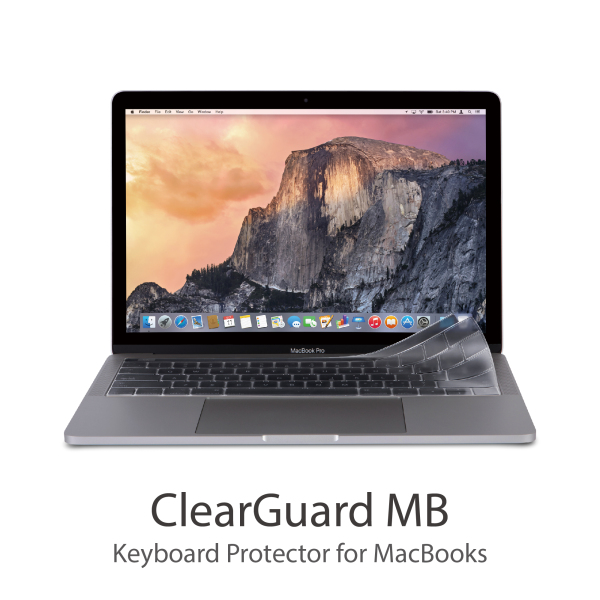 Moshi ClearGuard MB Keyboard Protector for MacBooks (with Touch Bar, US),durable, non-toxic,0.1 mm thin,High transparency