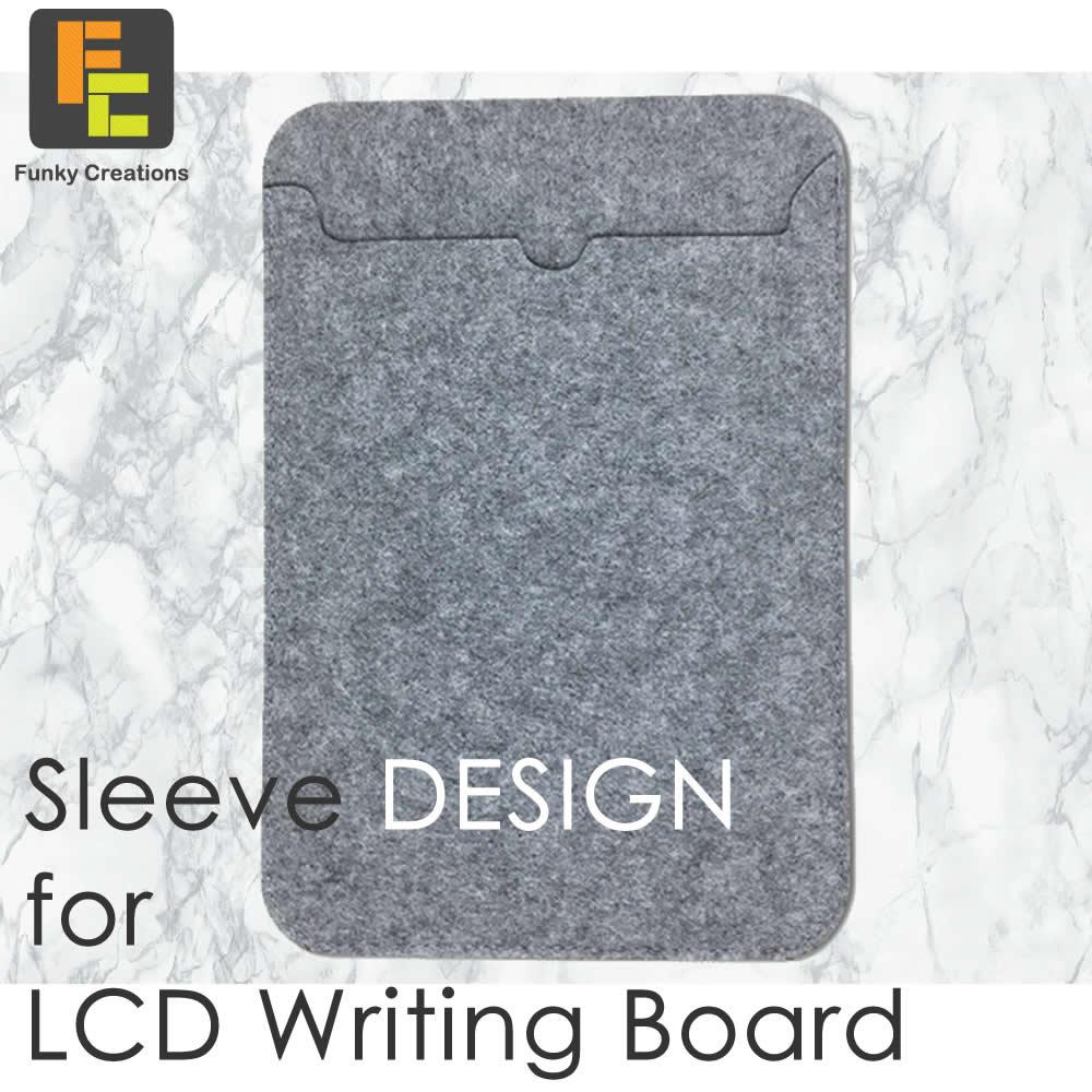 LCD writing Tablet/Pad Protective Protection Sleeve (2 sizes)