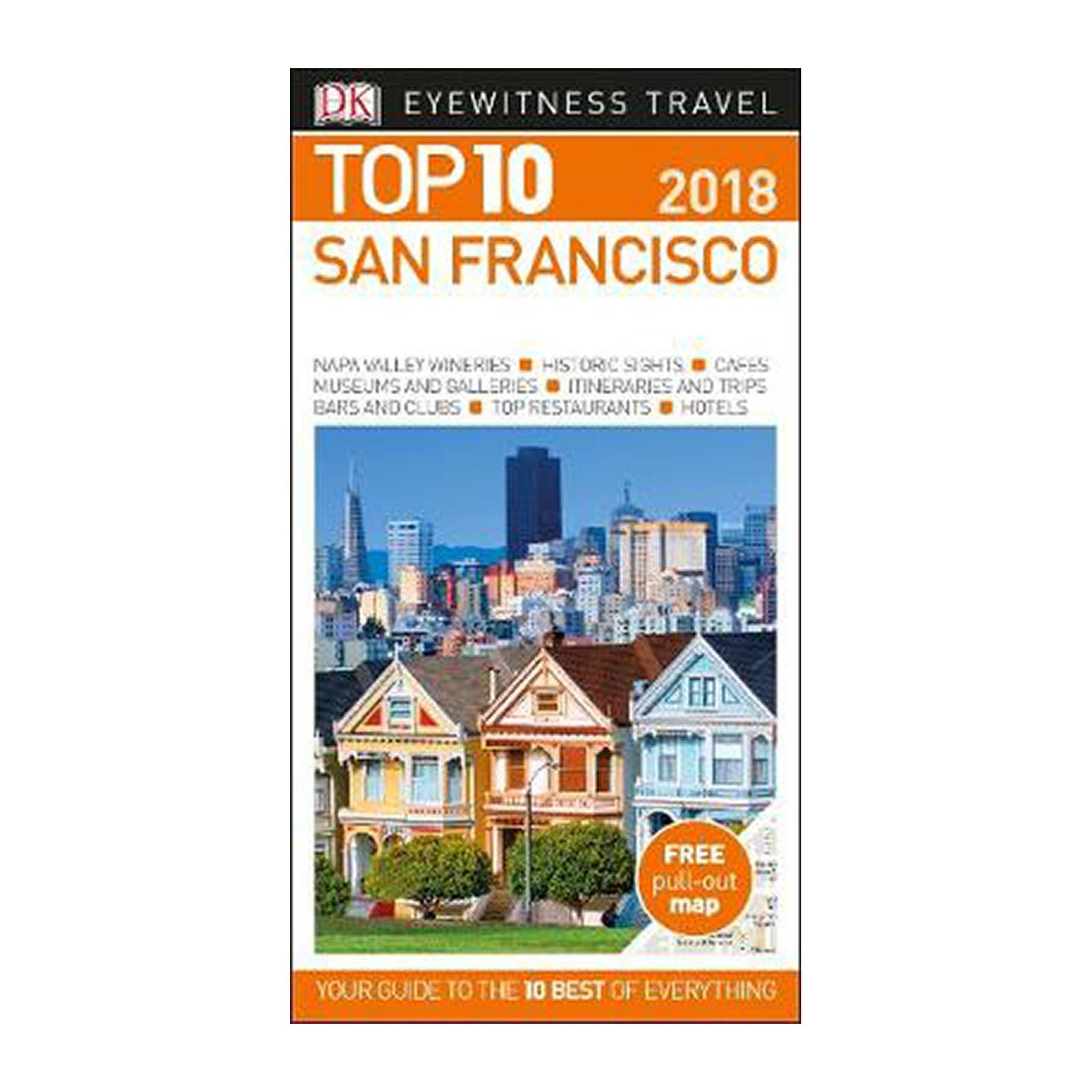 Top 10 San Francisco: 2018 (Paperback)