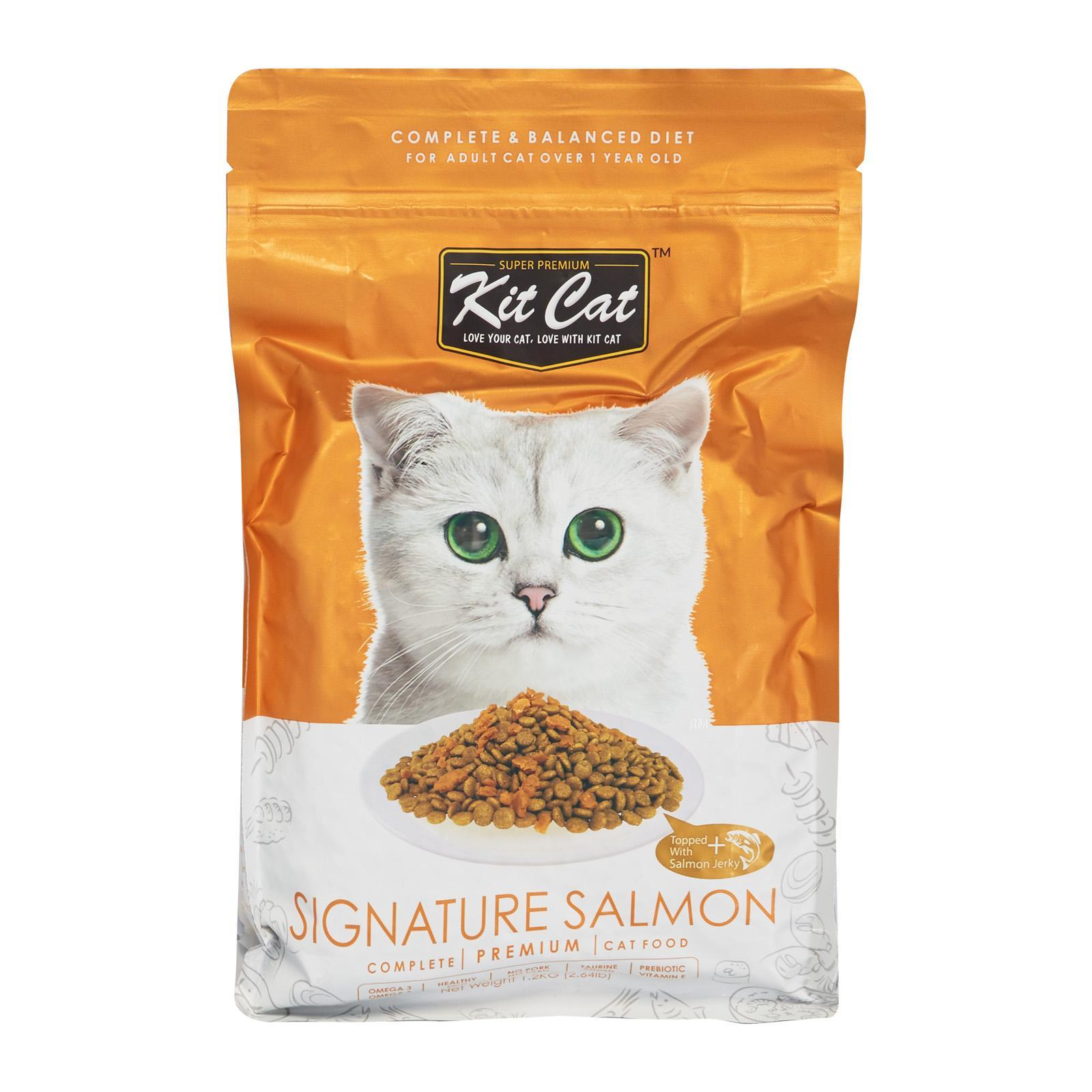Kit Cat Premium Cat Food Signature Salmon - Dry Cat Food