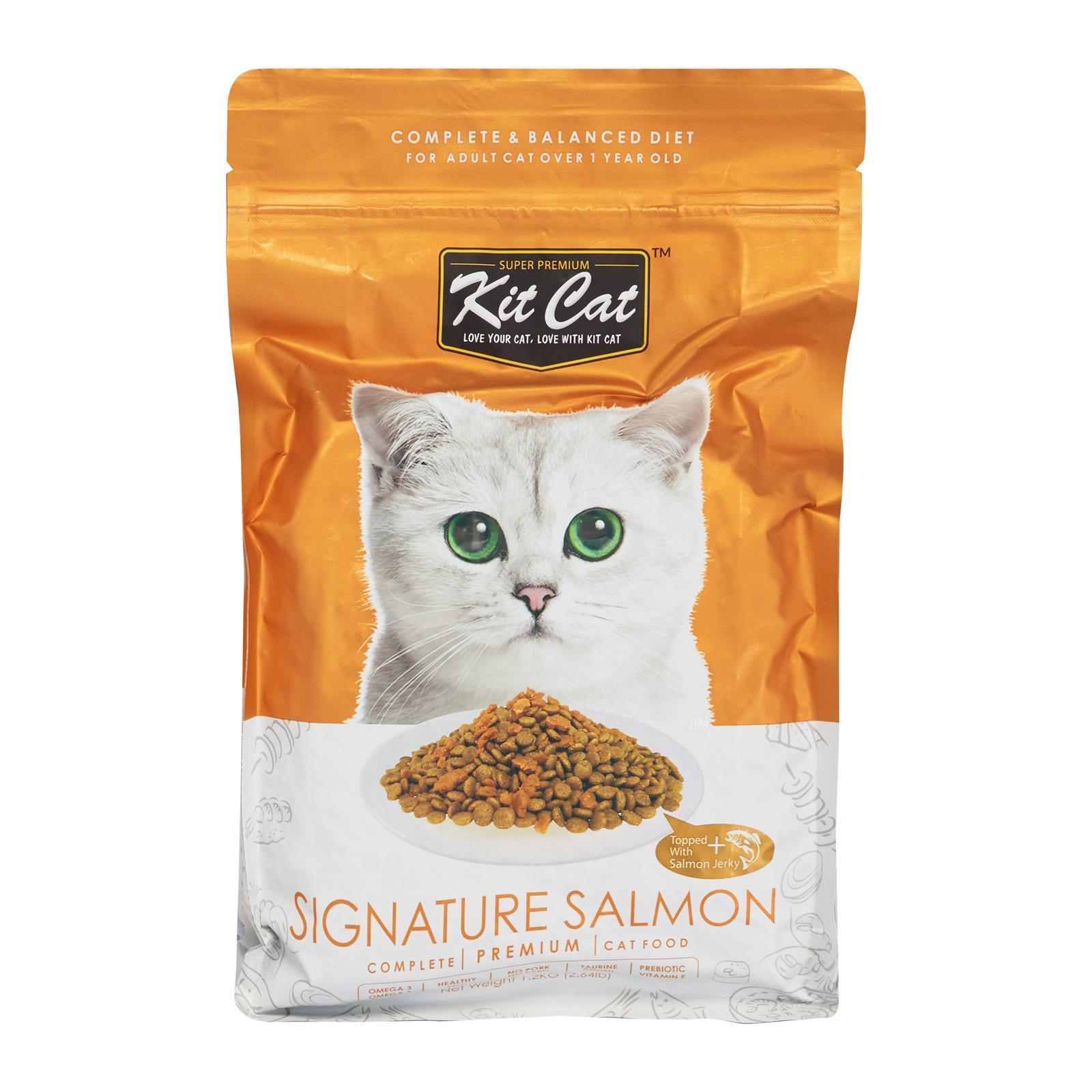 Kit Cat Premium Cat Food Signature Salmon - Dry Cat Food