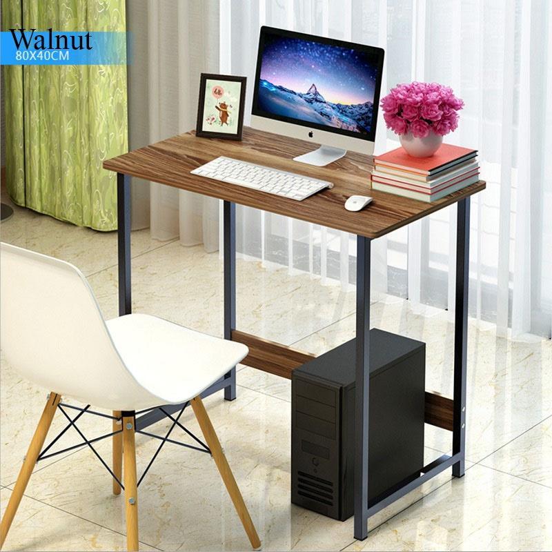NOOKS-[80/100/120cm] Computer Table Study Desk  Office  Furniture  Drawer Organizer Storage