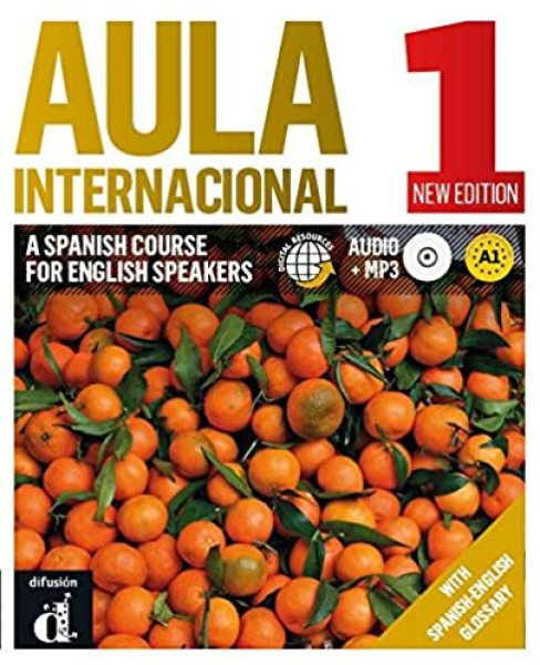 NUS TEXTBOOK Aula Internacional 1 Nueva edicion Libro del alumno + CD (English edition) * pre order * pre order