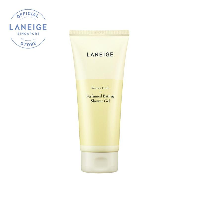 Buy [LAZADA Exclusive] LANEIGE Perfumed Bath & Shower Gel 200ml [Scent: Watery Fresh] Singapore