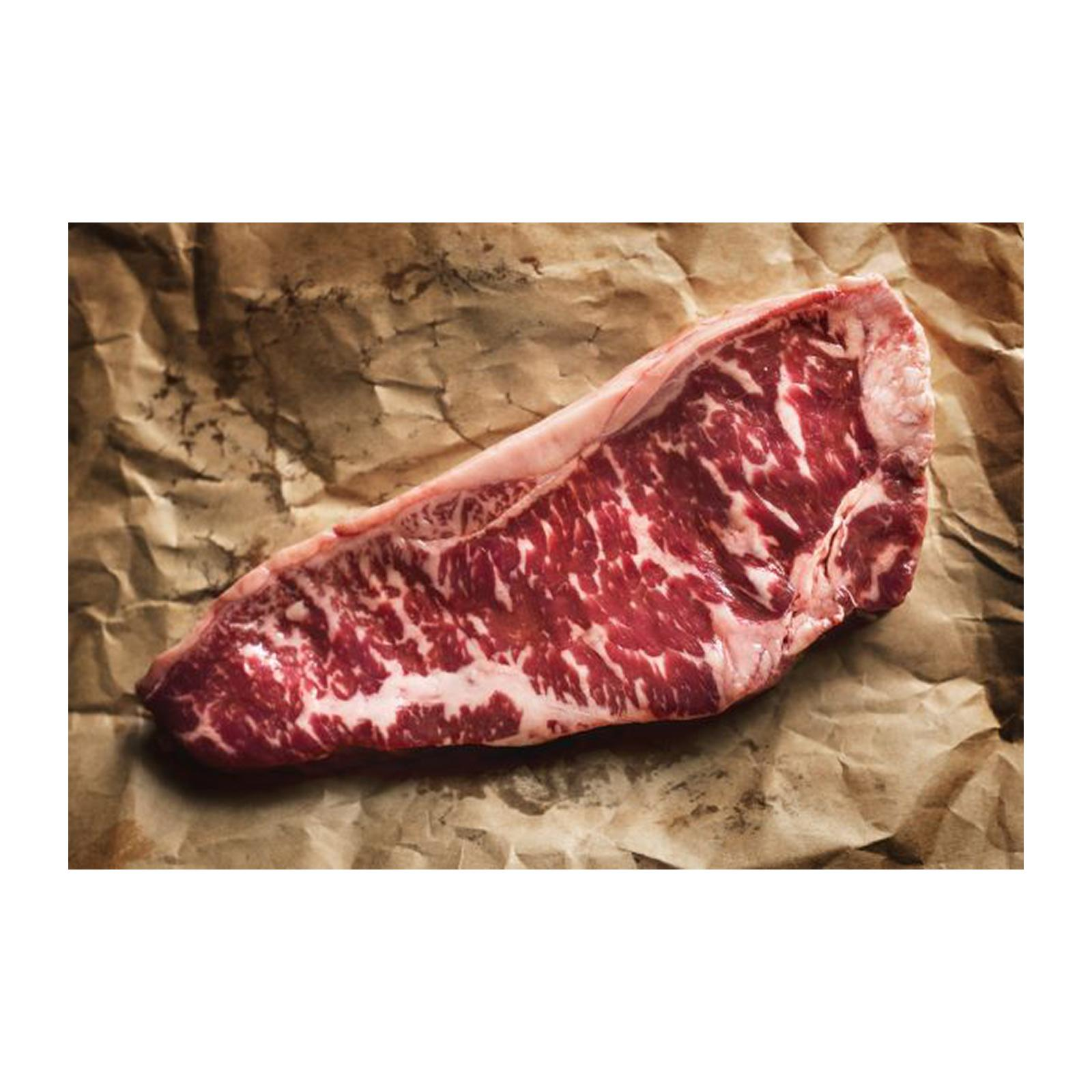 Master Grocer Black Angus Grainfed Striploin - Chilled