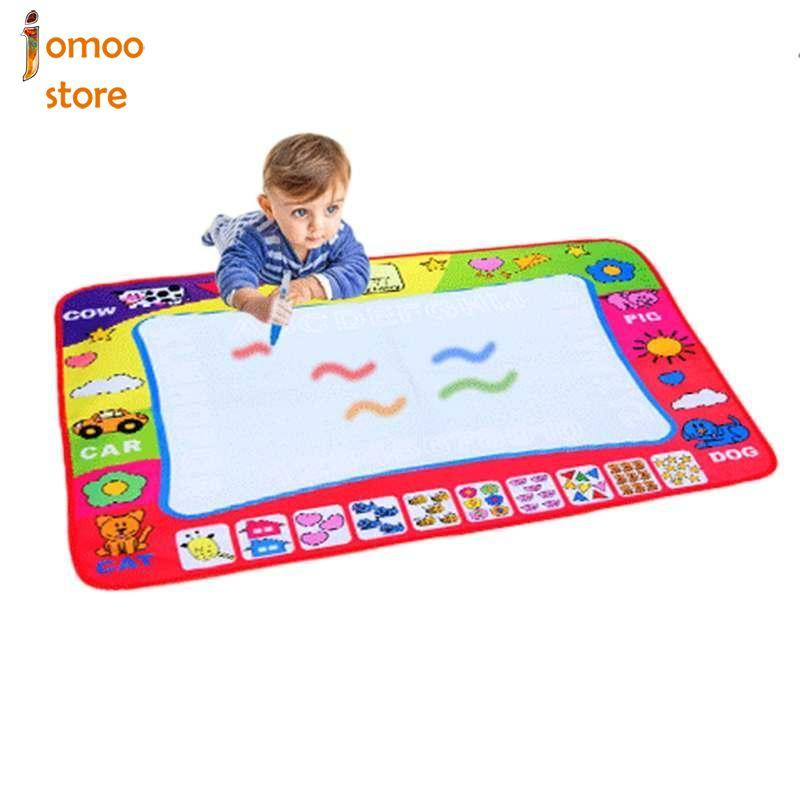 80x60cm Water Doodle Mat Kids Art Board Drawing Toy With Water Drawing Pen - Intl By Jomoo Store.