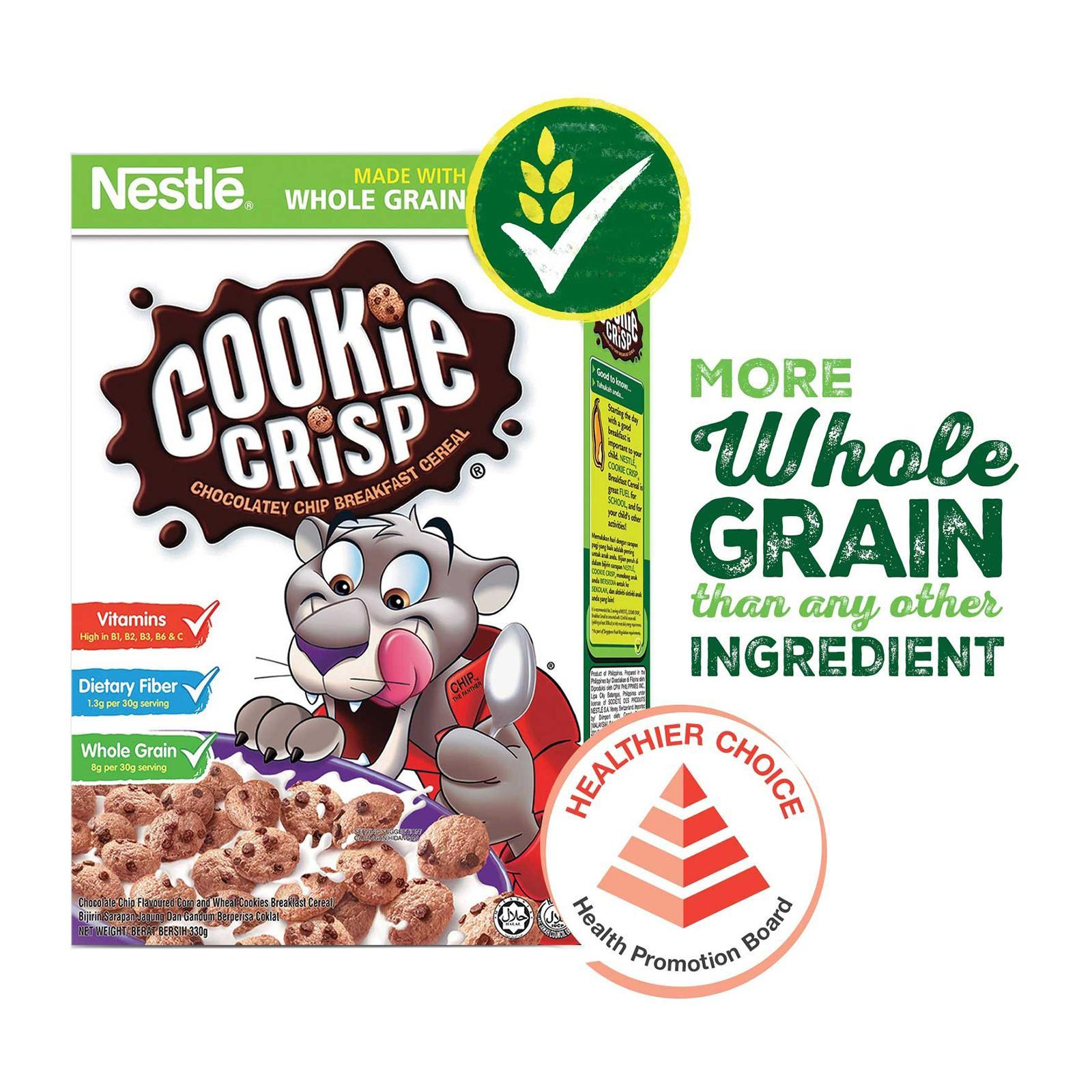 Nestle Cookie Crisp Cereal With Whole Grain (330g) By Redmart.