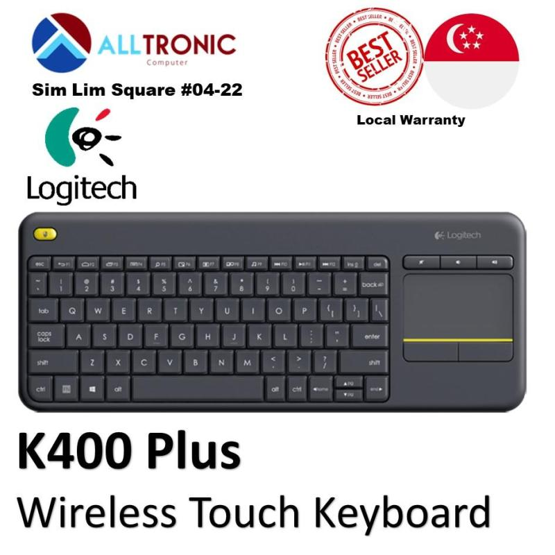 Logitech K400 Plus Wireless Touch Keyboard/ Singapore Authorized Reseller Singapore