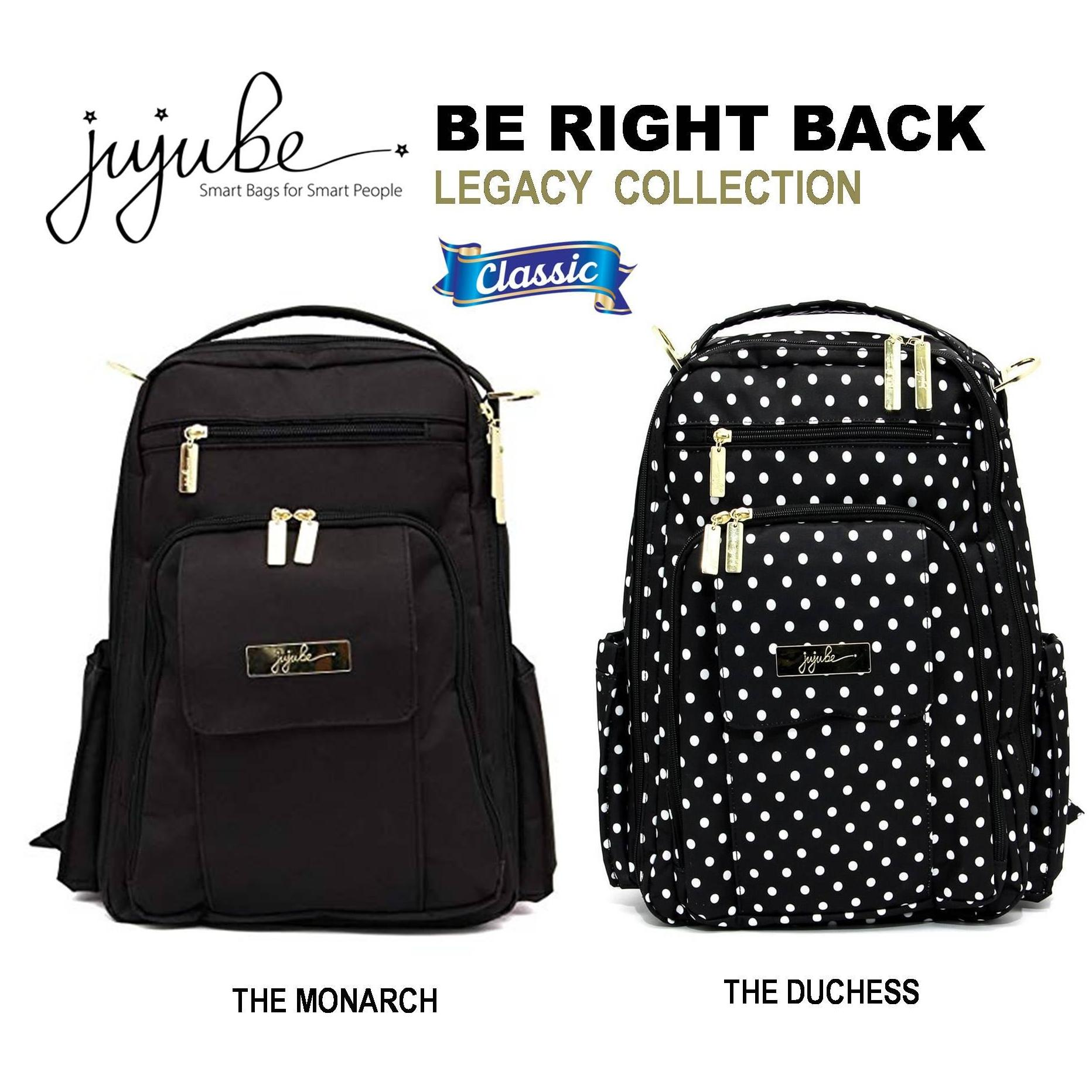 eaae43507c40 Jujube ∣ Ju-Ju-Be [ The Monarch . The Duchess ] Be Right Back (BRB)  Backpack, Legacy Collection