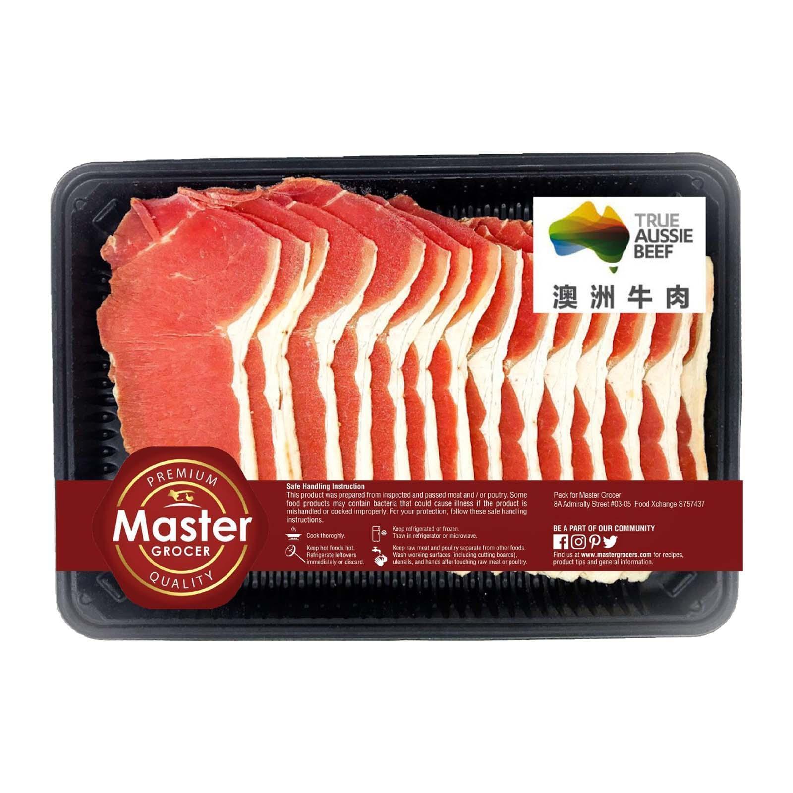 Master Grocer Australia Beef Striploin Shabu Shabu - Frozen