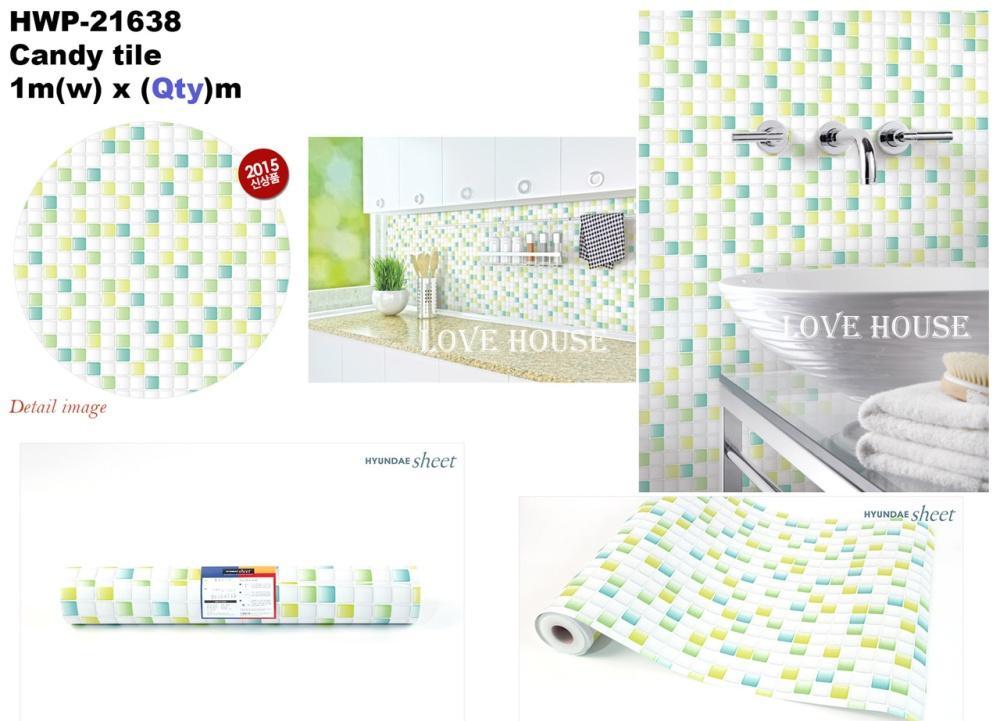 DIY HWP21638 Furniture Sticker Self Adhesive Wallpaper Decoration