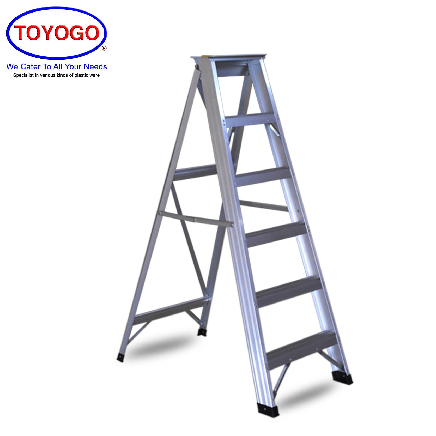 Toyogo Alum Ladder (6 Step) (HFH5546) W21