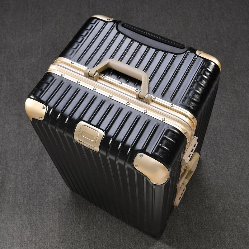 Ggx Thick Aluminum Frame Travel Trolley Universal Wheel Large Capacity Travel Lugguge Export Consignment Toolbox Luggage