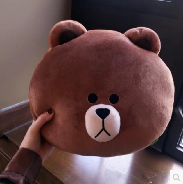Line Friends Brown Cony Pillow Cushion By Sharinganez.