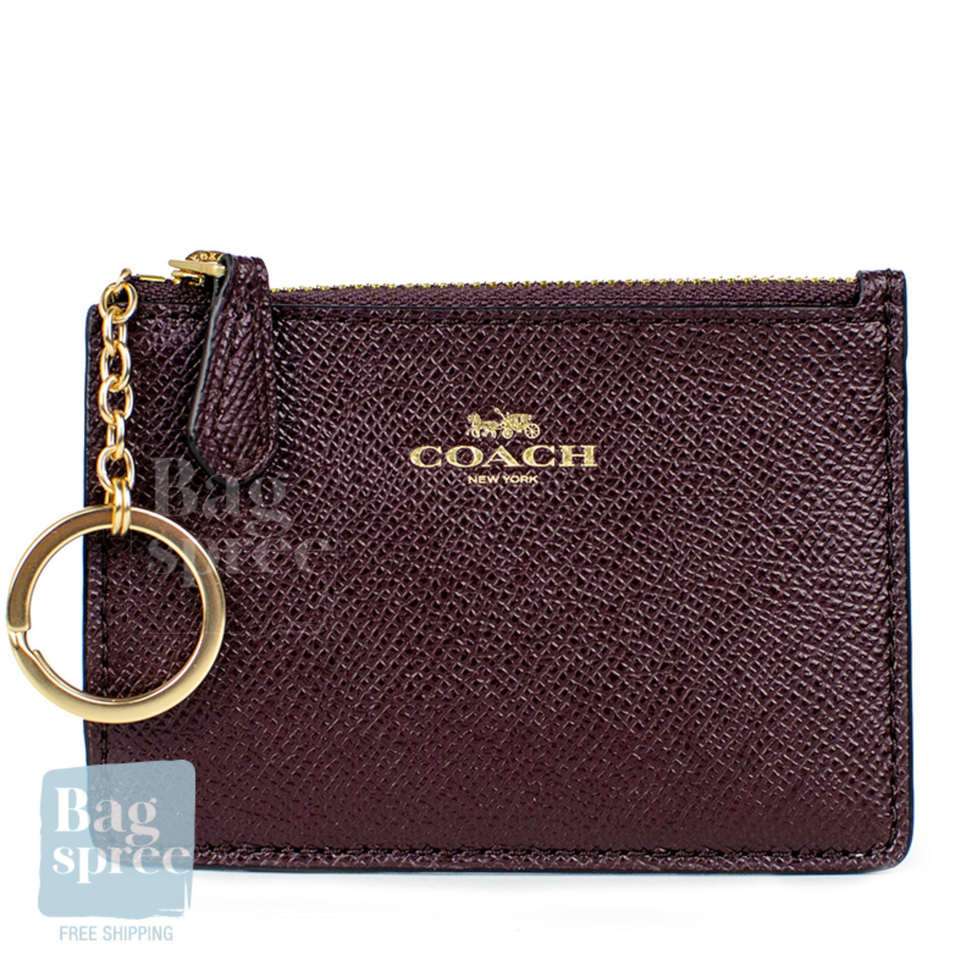 d506daed *Authentic & Brand New* Coach Mini Skinny ID Case F12186 F16107 [Gift  Receipt Provided]