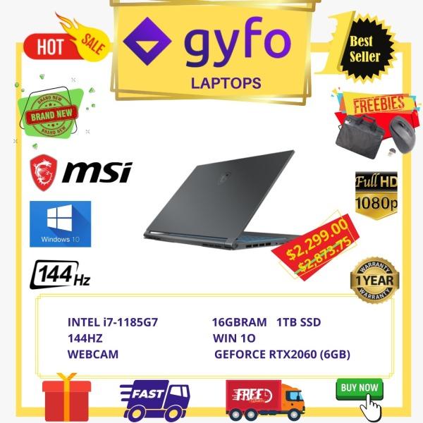 MSI GAMING 15M A11SEK / INTEL i7-1185G7 / 16GB / 1TB / 15.6 FHD / WIN 10 / 1 YR SG MSI WARRANTY