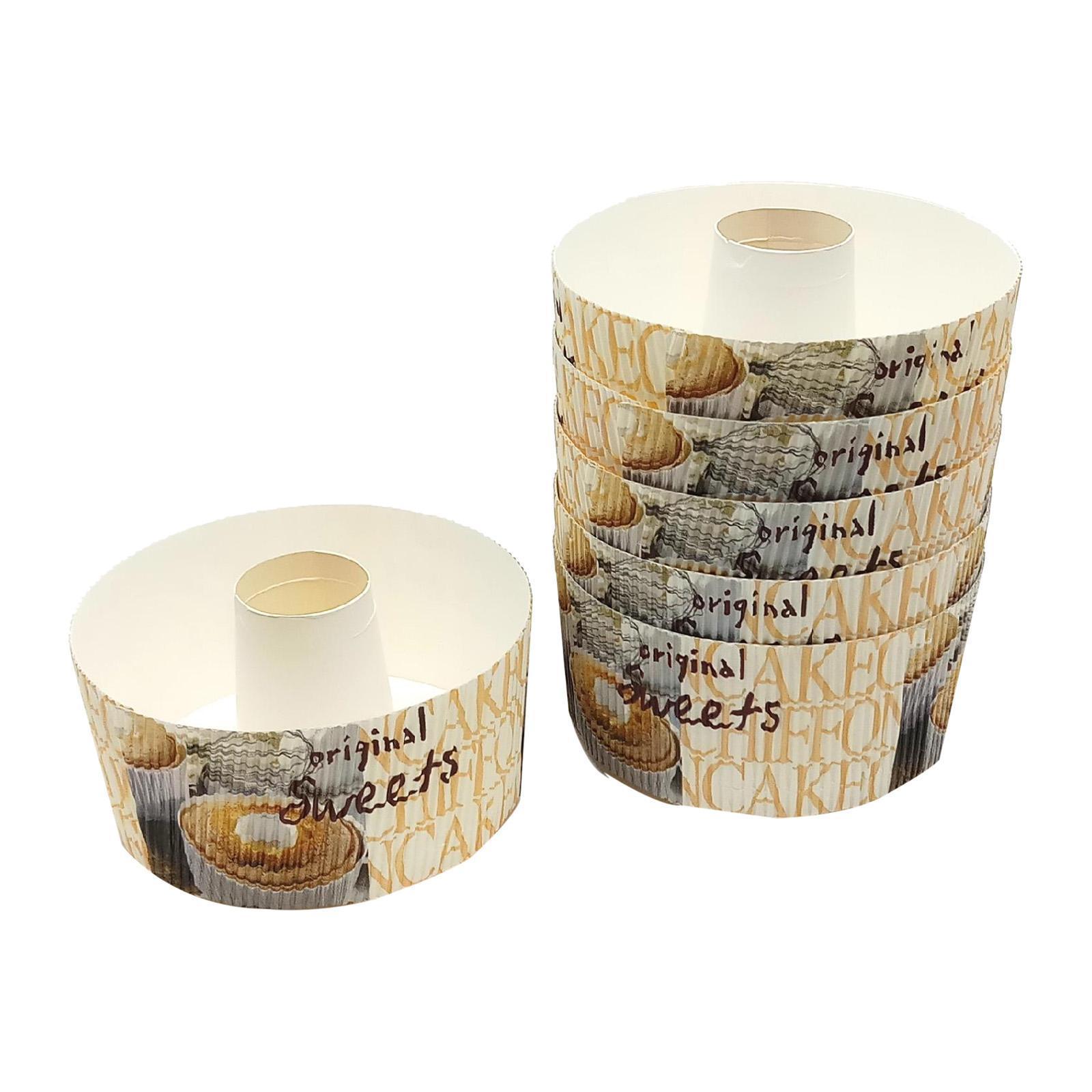 Vesta Paper Chiffon Cake Cup (Sweet Photo)