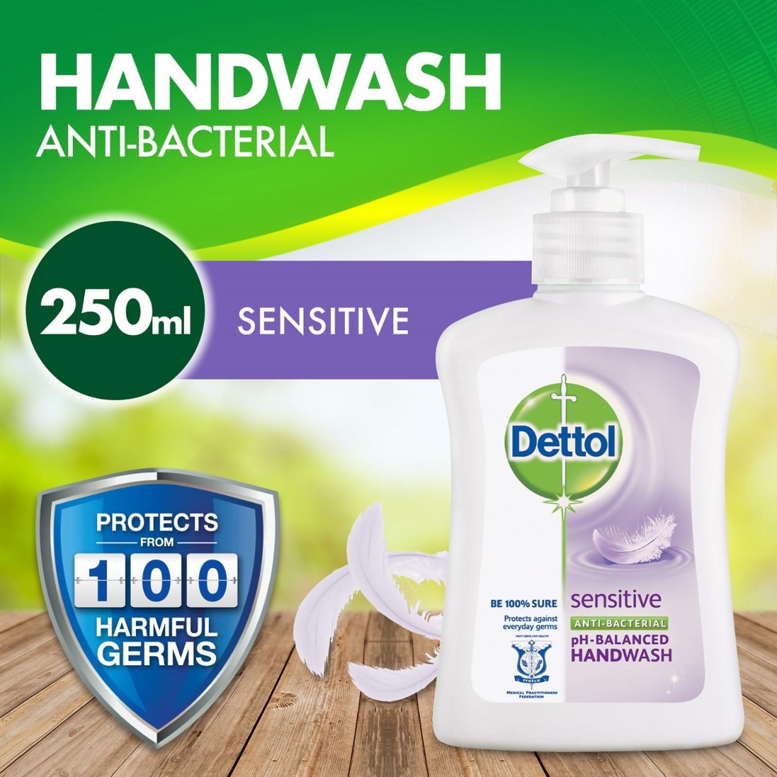 Dettol Anti-Bacterial Hand Soap Sensitive