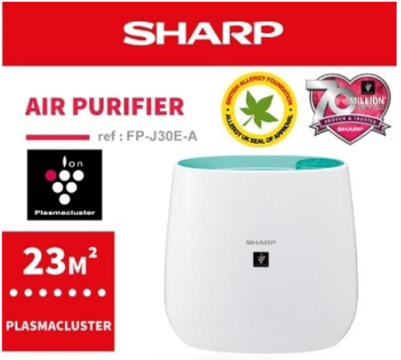 SHARP FP-J30E 23m² BLUE PLASMACLUSTER AIR PURIFIER Singapore