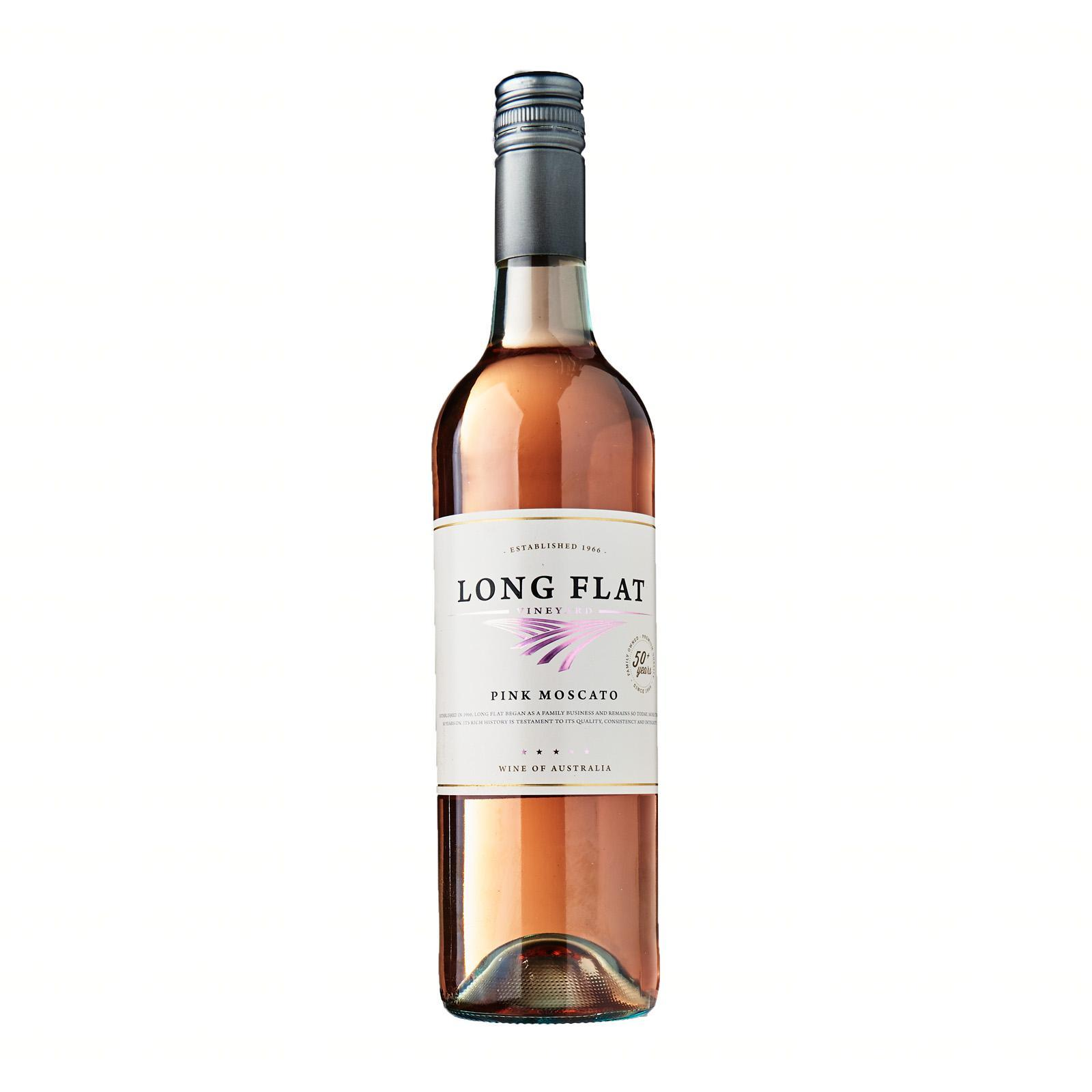 Long Flat Pink Moscato