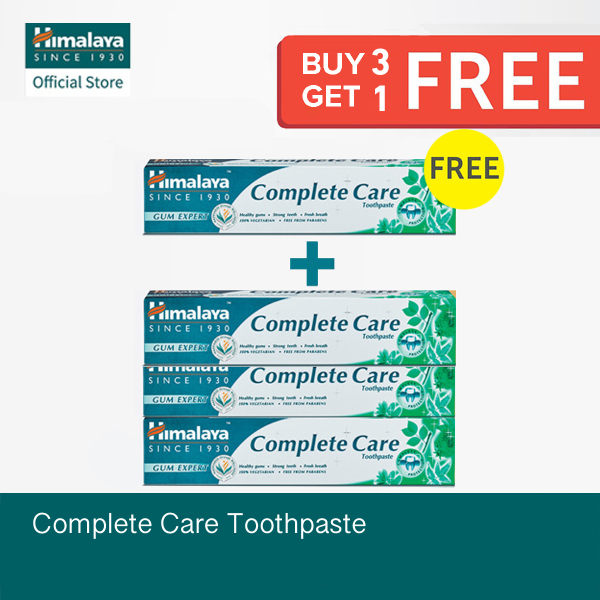 Buy [Get 4 at Price of 3] 175g Himalaya Complete Care Toothpaste Singapore