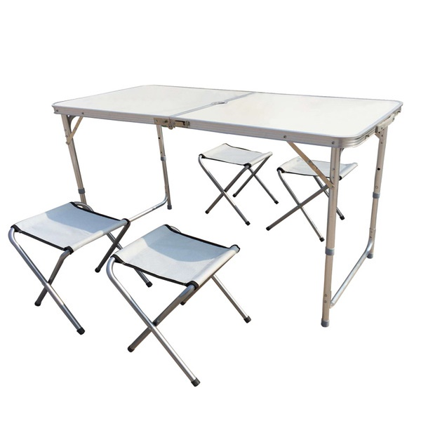 120 x 60 Normal / Upgraded Portable Foldable Aluminium Table / Not Incl Chairs