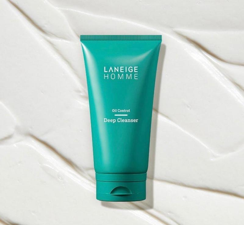 Buy Laneige Homme Oil Control Deep Cleanser (150ml) - MissDewy Singapore