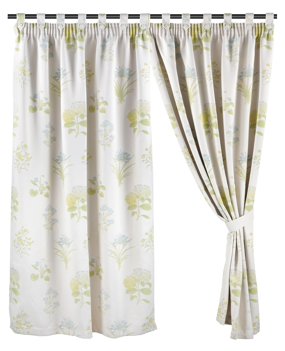 Ready Made Curtain, Printed, Dim Out, 3 Ways Hanging Options
