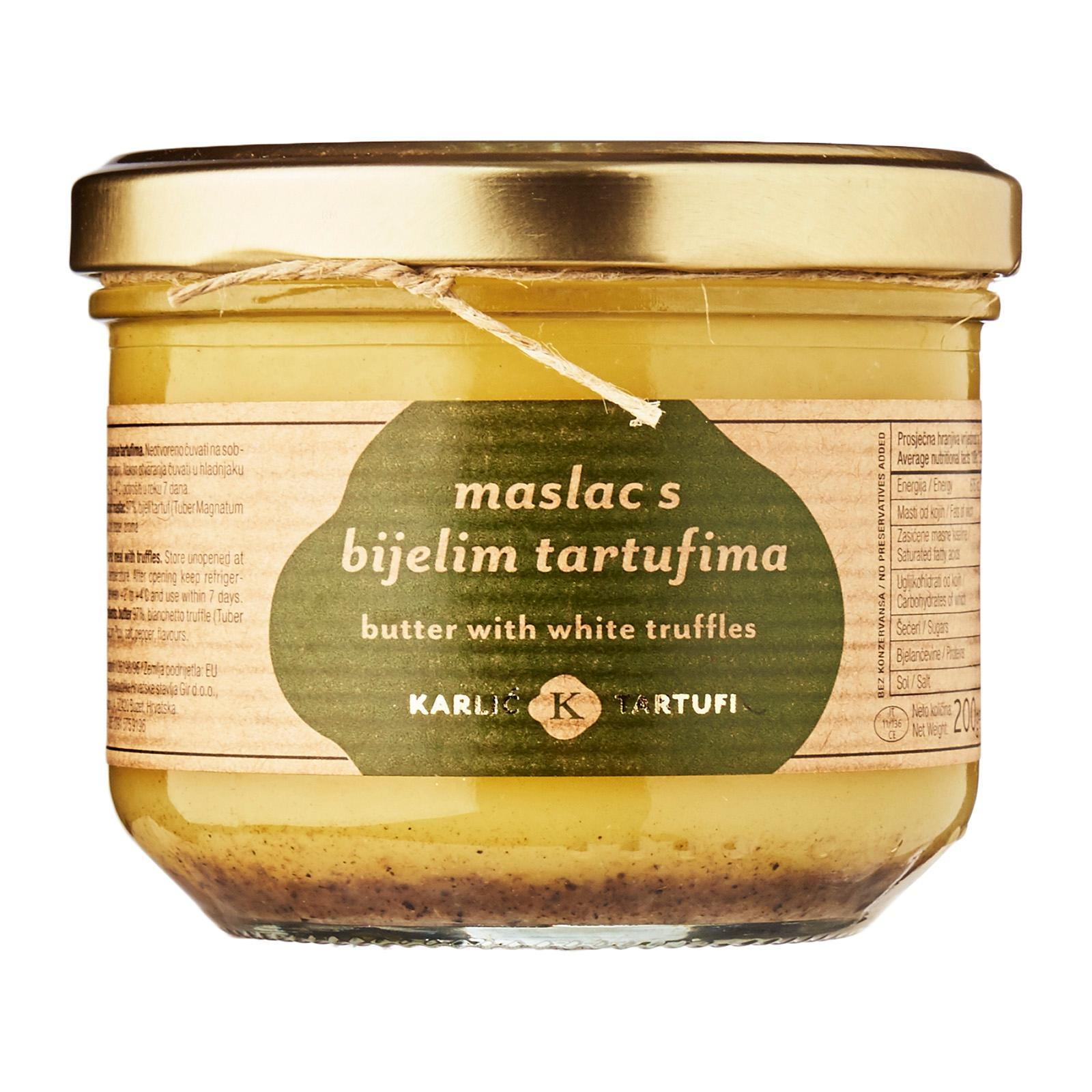 Karlic Tartufi White Truffle Butter By Redmart.