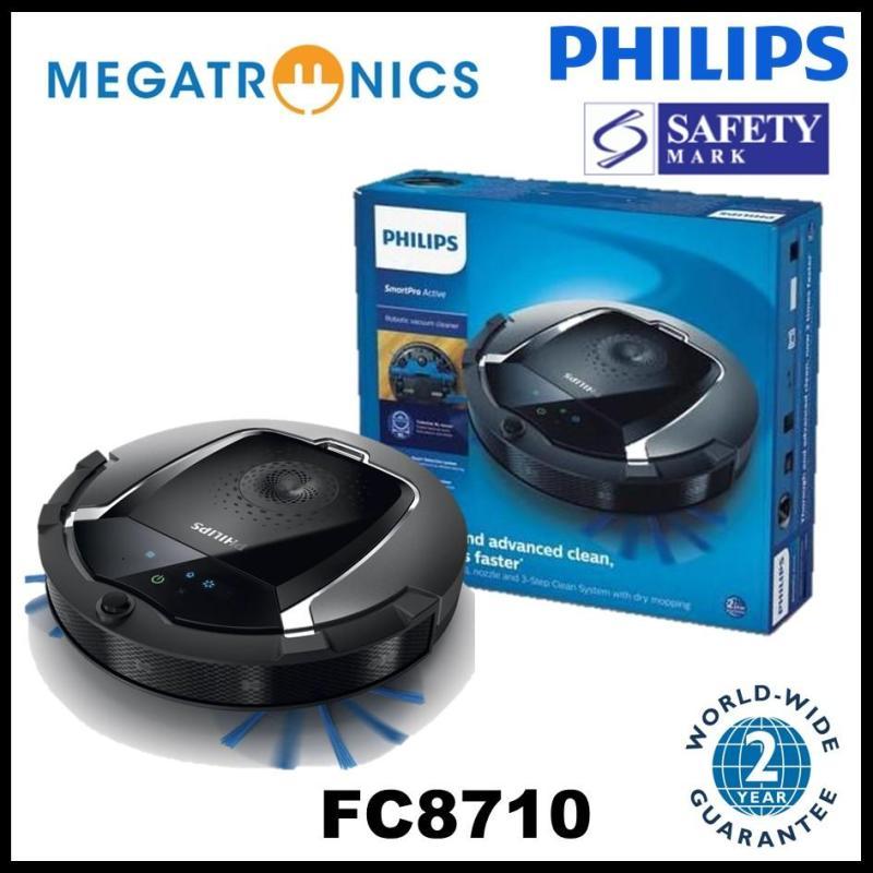 Philips SmartPro Compact Robot vacuum cleaner - FC8710/01 - 2 years warranty Singapore