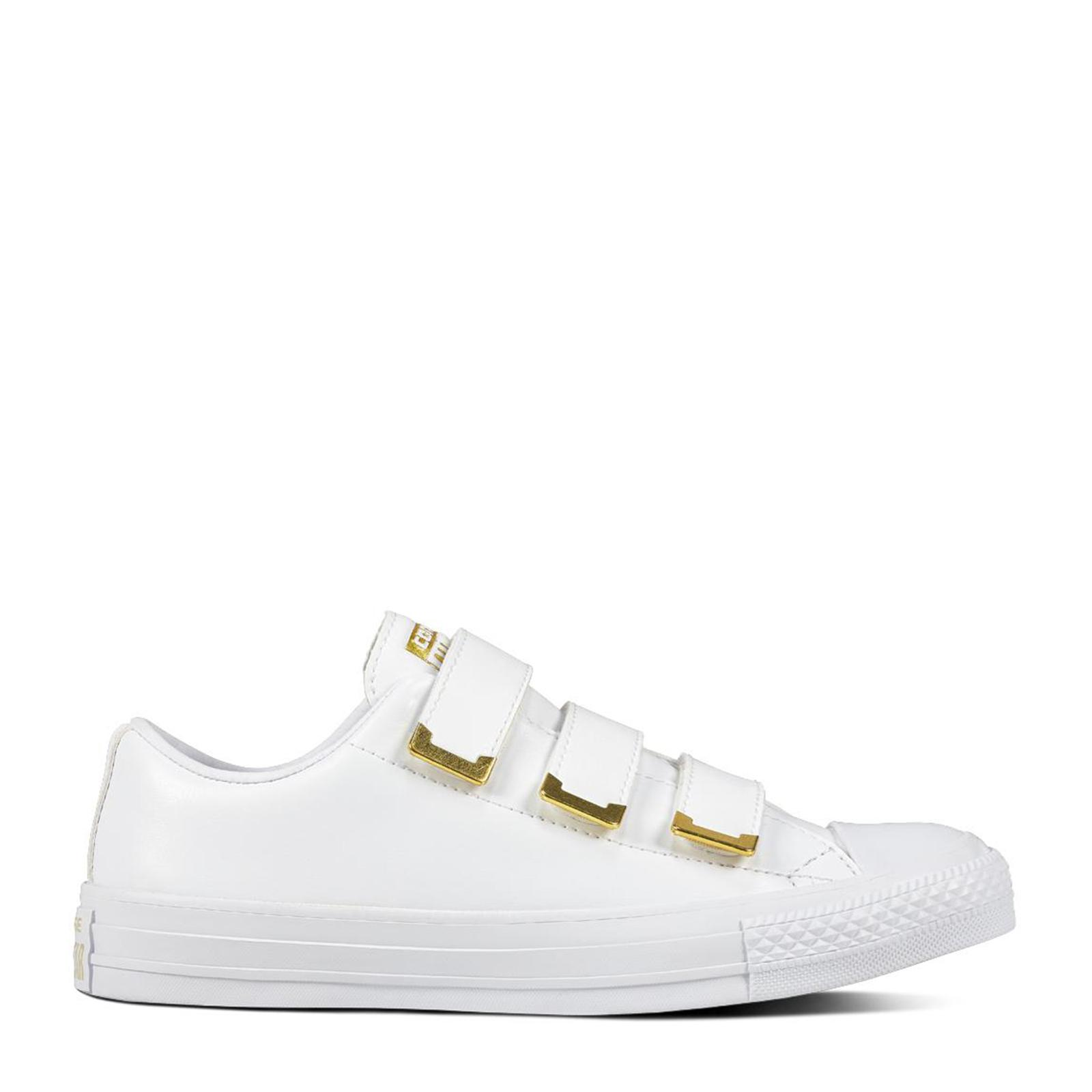 5d29b9beff2145  SALE  CONVERSE CHUCK TAYLOR ALL STAR 3V - OX - WHITE WHITE