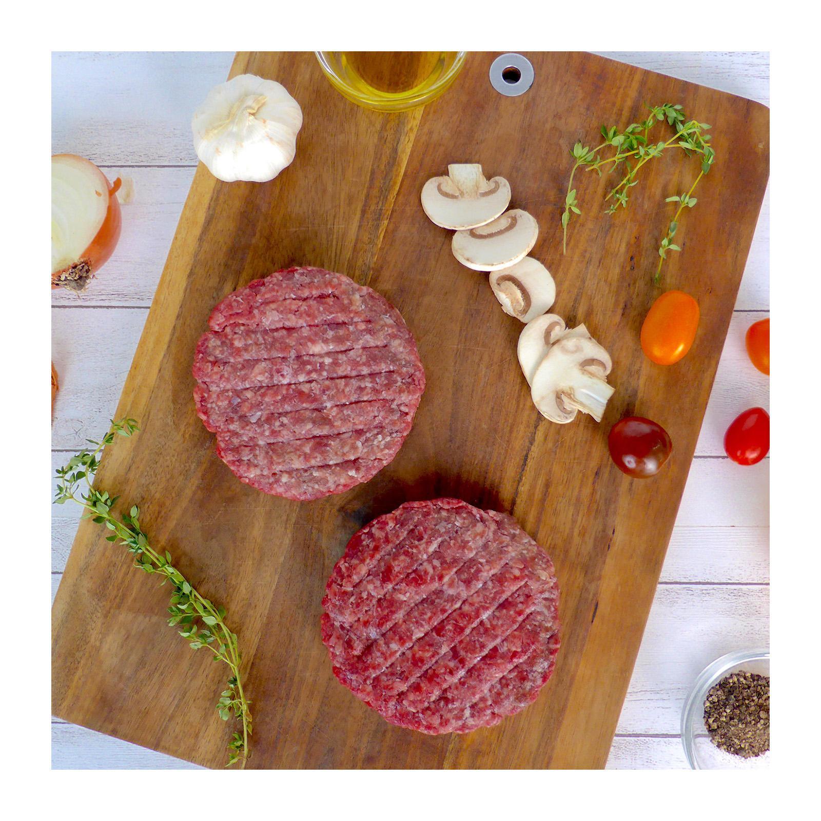 Baggie's Premium Grass-Fed Beef Steak Burgers - Frozen