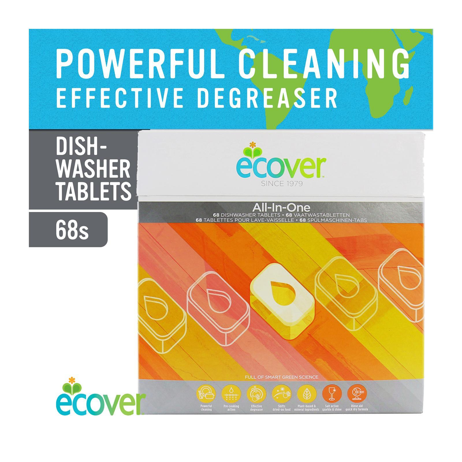 Ecover All-in-One Dishwasher Tablets - By Corlison
