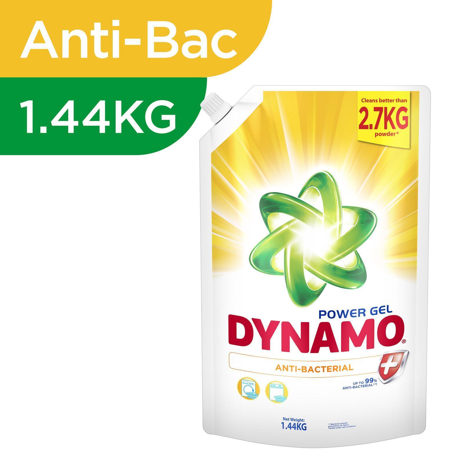 Dynamo Power Gel Anti-Bacterial Laundry Detergent Refill