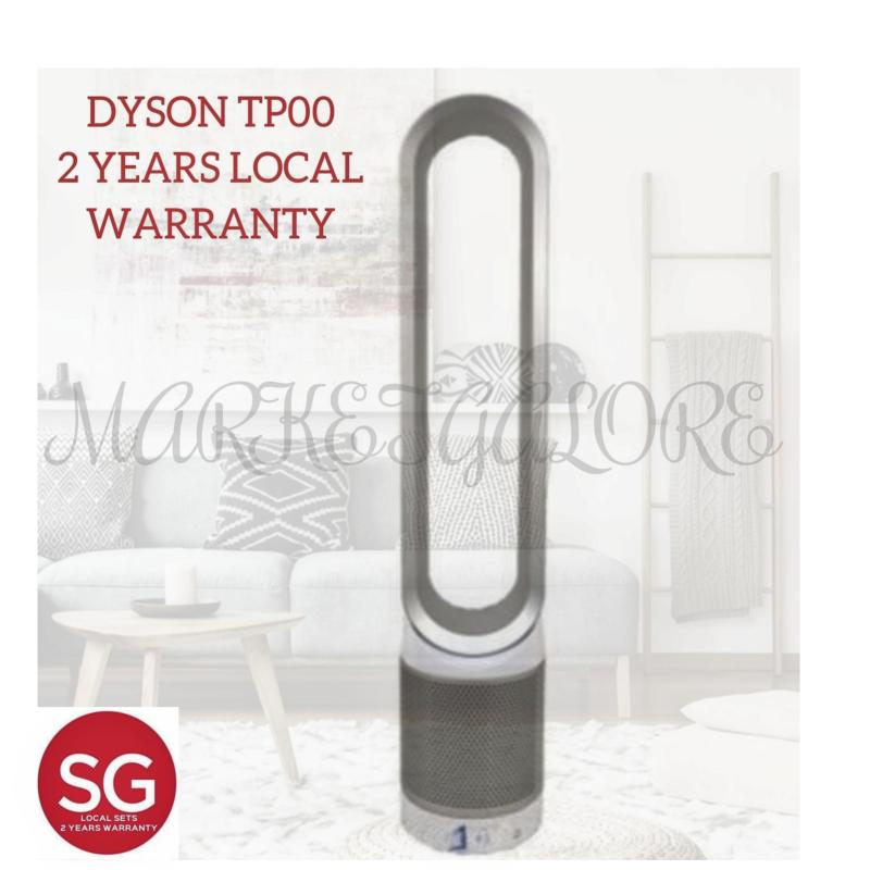 Dyson Pure Cool Purifier Tower Fan TP00 (White/Silver) 2 YRS LOCAL Singapore
