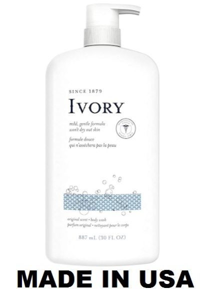 Buy Ivory Clean Original Body Wash, 30.0 Fluid Ounce (Imported from USA) Singapore