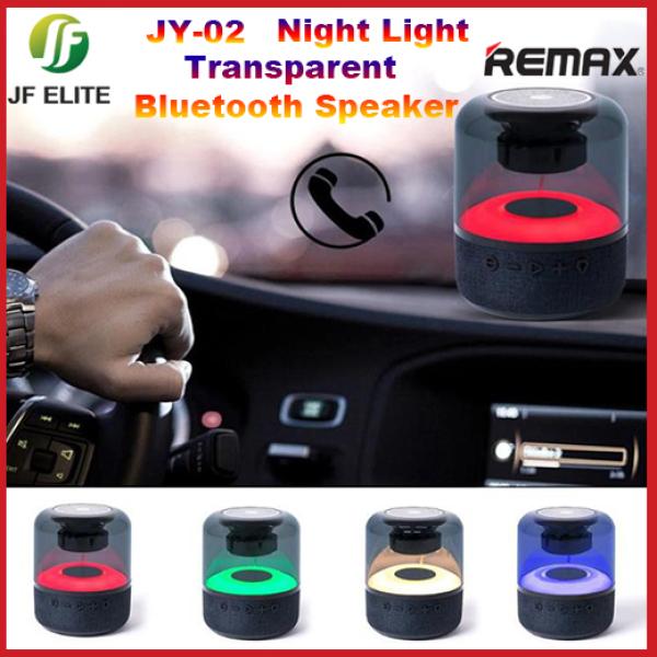 Bluetooth Speaker Night Light Bluetooth Speaker Transparent Bluetooth Speaker 2.1 Channel Shocking Bass (JY-02 )