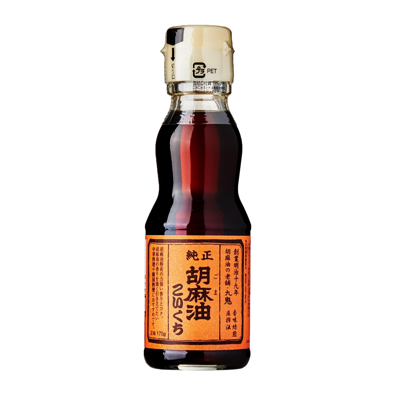 Kuki Kokuichi Pure Roasted Japanese Goma Abura Sesame Oil 170ml - Kirei By Redmart.