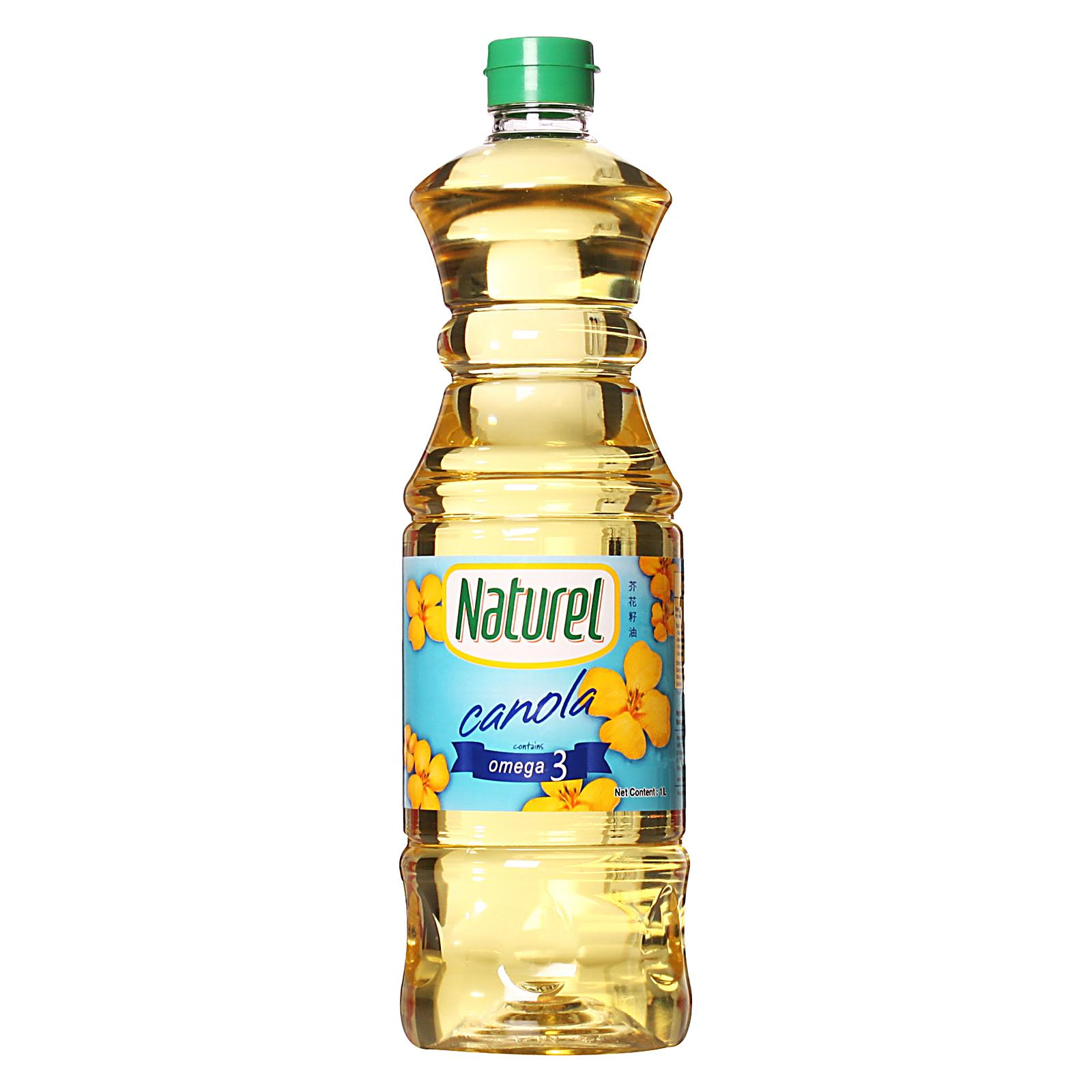 Naturel Canola Oil By Redmart.