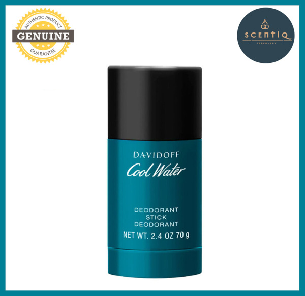 Buy DAVIDOFF COOL WATER Deodorant Stick 75 g - 3607342727120 - Original Brand DAVIDOFF Deo 100% Authentic Deostick Singapore